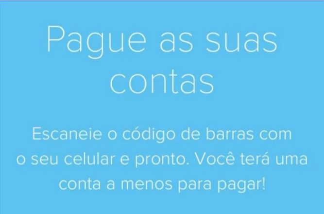 Pague Contas com Mercado Pago