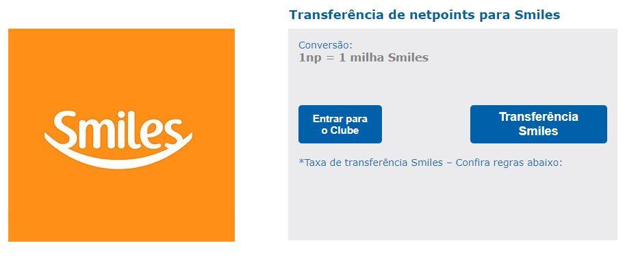 e5fbd456b Bomba  Netpoints passará a cobrar taxa para transferir NPs para o Smiles