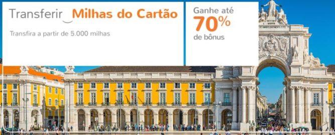 Bônus de até 70% no Smiles transferindo pontos de cartões de crédito
