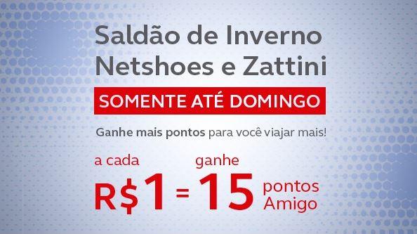 fb6ef3072 Amigo Avianca oferece 15 pontos por real gasto na Netshoes para produtos  específicos
