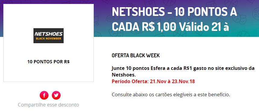 163f9361b Esfera  10 pontos por real gasto na Netshoes ou Zattini – Passagens.top