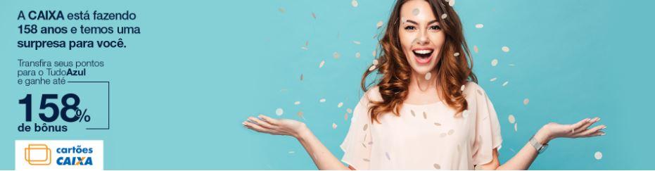 b5888caeb Caixa oferece até 158% de bônus ao transferir pontos de cartões de crédito  para Smiles