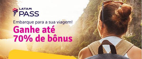 LATAM Pass e Livelo oferecem até 70% de bônus em transferências